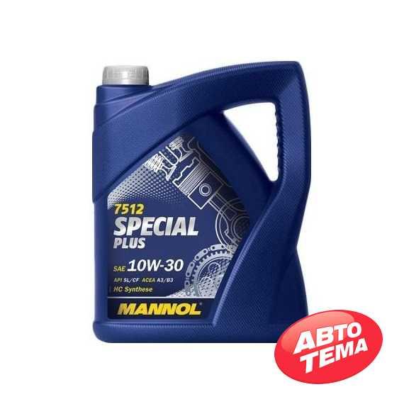 Моторное масло MANNOL Special Plus  7512 - Интернет магазин резины и автотоваров Autotema.ua