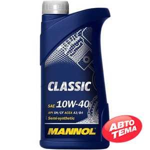 Купить Моторное масло MANNOL Classic 10W-40 (1л)