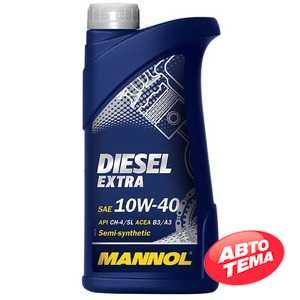Купить Моторное масло MANNOL Diesel Extra 10W-40 (1л)
