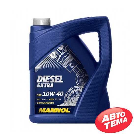 Моторное масло MANNOL Diesel Extra - Интернет магазин резины и автотоваров Autotema.ua