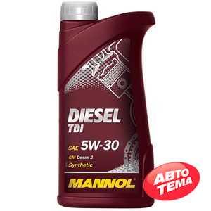Купить Моторное масло MANNOL Diesel TDI 5W-30 (1л)