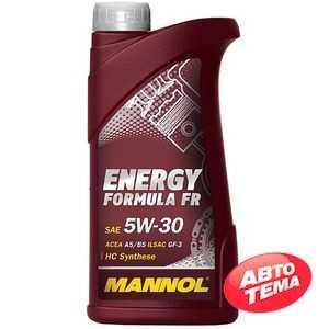 Купить Моторное масло MANNOL Energy Formula FR 5W-30 (1л)