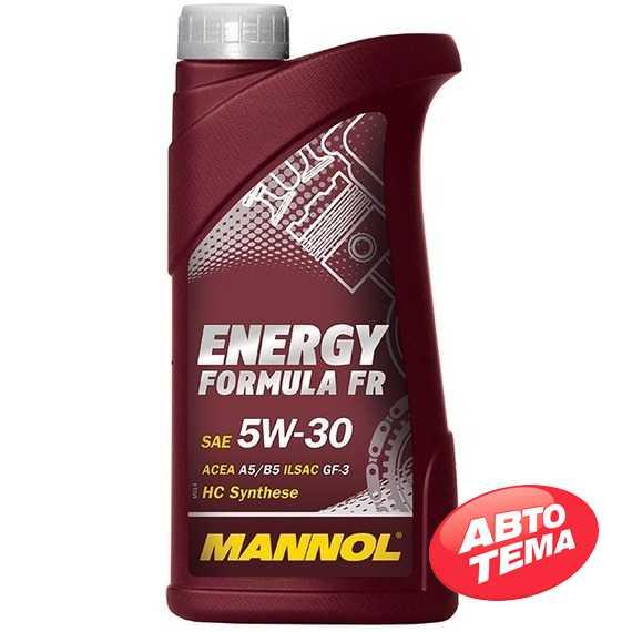 Моторное масло MANNOL Energy Formula FR - Интернет магазин резины и автотоваров Autotema.ua