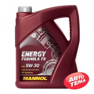 Купить Моторное масло MANNOL Energy Formula FR 5W-30 (5л)