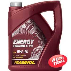 Купить Моторное масло MANNOL Energy Formula PD 5W-40 (5л)