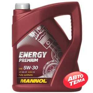 Купить Моторное масло MANNOL Energy Premium 5W-30 (4л)