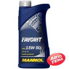 Моторное масло MANNOL Favorit - Интернет магазин резины и автотоваров Autotema.ua