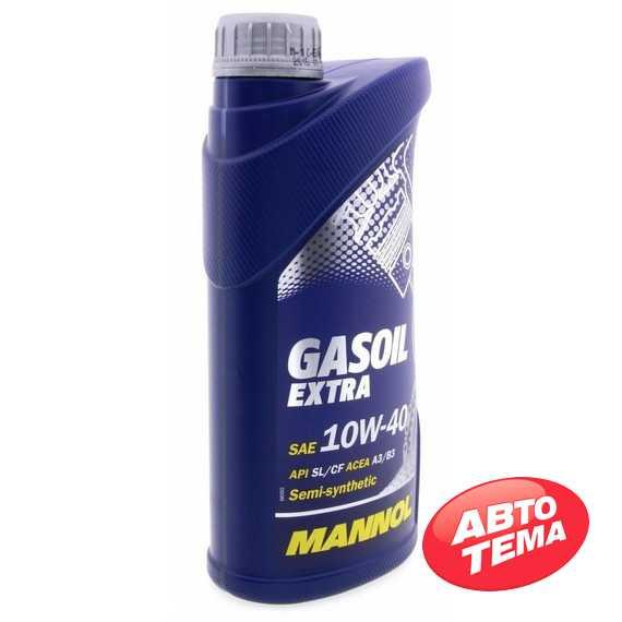 Моторное масло MANNOL Gasoil Extra - Интернет магазин резины и автотоваров Autotema.ua
