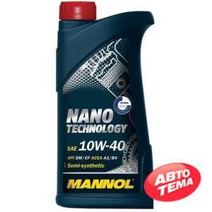 Купить Моторное масло MANNOL Nano Technology 10W-40 (1л)