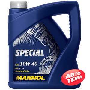 Купить Моторное масло MANNOL Special 10W-40 (4л)