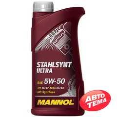 Моторное масло MANNOL Stahlsynt Ultra - Интернет магазин резины и автотоваров Autotema.ua