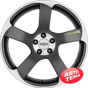 Купить DOTZ Freeride peak BASE Graphite matt/polished R18 W7.5 PCD5x112 ET38 DIA70.1