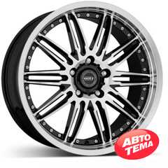 Купить DOTZ Territory FIX Black/polished R19 W9 PCD5x112 ET42 DIA66.6