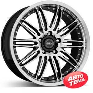 Купить DOTZ Territory FIX Black/polished R19 W9 PCD5x112 ET42 DIA66.6