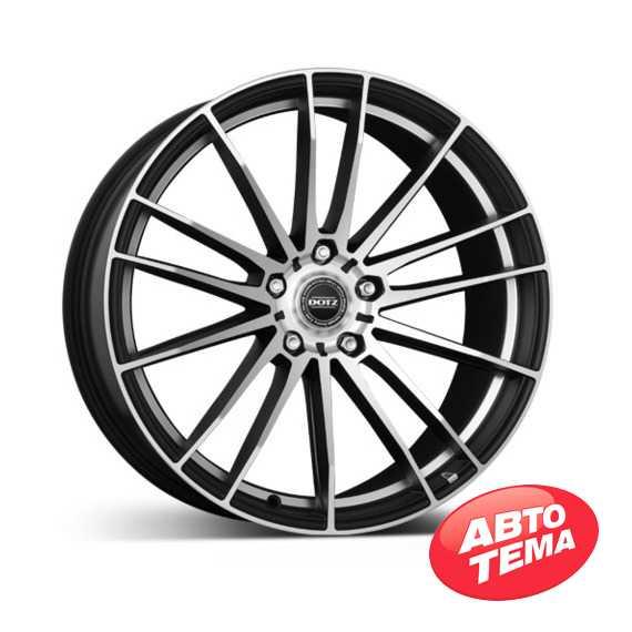 DOTZ Fast Fifteen Black matt/polished - Интернет магазин резины и автотоваров Autotema.ua
