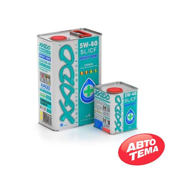 Купить Моторное масло XADO Atomic Oil 5W-40 SL/CF (1л)