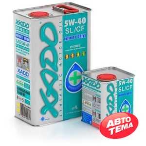Купить Моторное масло XADO Atomic Oil 5W-40 SL/CF (4л)