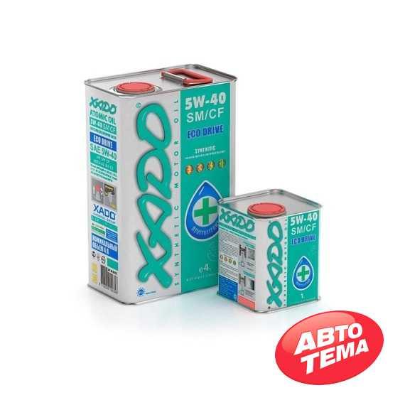 Купить Моторное масло XADO Atomic Oil 5W-40 SM/CF (4л)