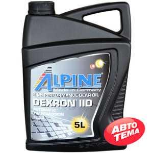 Купить Трансмиссионное масло ALPINE ATF Dexron IID (5л)