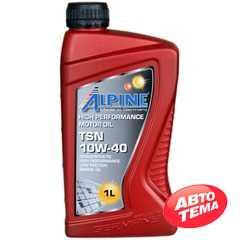 Моторное масло ALPINE TSN - Интернет магазин резины и автотоваров Autotema.ua