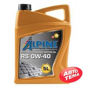 Купить Моторное масло ALPINE TS 10W-40 SL/CF (4л)