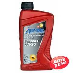 Моторное масло ALPINE Special F - Интернет магазин резины и автотоваров Autotema.ua