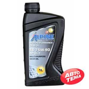 Купить Трансмиссионное масло ALPINE Gear Oil 75W-90 TS GL-4 (1л)