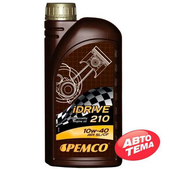Моторное масло PEMCO iDrive 210 - Интернет магазин резины и автотоваров Autotema.ua