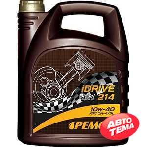 Купить Моторное масло PEMCO iDrive 214 10W-40 CH-4/SL (5л)