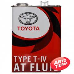 Купить Трансмиссионное масло TOYOTA ATF TYPE T-IV (Япония) (4л)