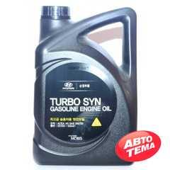 Купить Моторное масло HYUNDAI Mobis Turbo Syn Gasoline 5W-30 SM/GF-4 (4л)