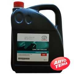 Купить Охлаждающая жидкость TOYOTA Antifreeze Long Life Coolant концентрат (красная) (5л)