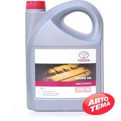 Купить Моторное масло TOYOTA Engine Oil Semi-Synthetic 10W-40 (5л)