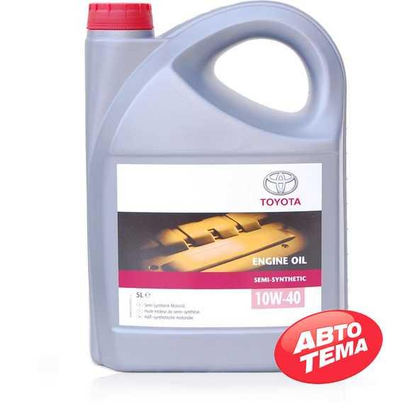 Моторное масло TOYOTA Engine Oil Semi-Synthetic - Интернет магазин резины и автотоваров Autotema.ua