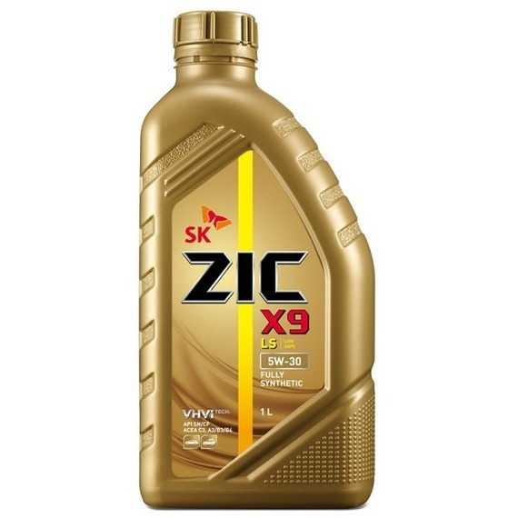 Моторное масло ZIC X9 LS - Интернет магазин резины и автотоваров Autotema.ua