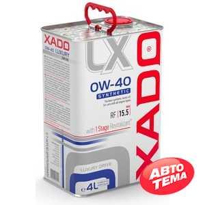 Купить Моторное масло XADO Luxury Drive 0W-40 (4л)