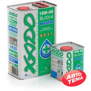 Купить Моторное масло XADO Atomic Oil Diesel Truck 10W-40 (5л)