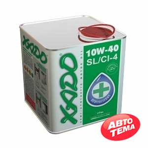 Купить Моторное масло XADO Atomic Oil 10W-40 SL/CI-4 (1л)
