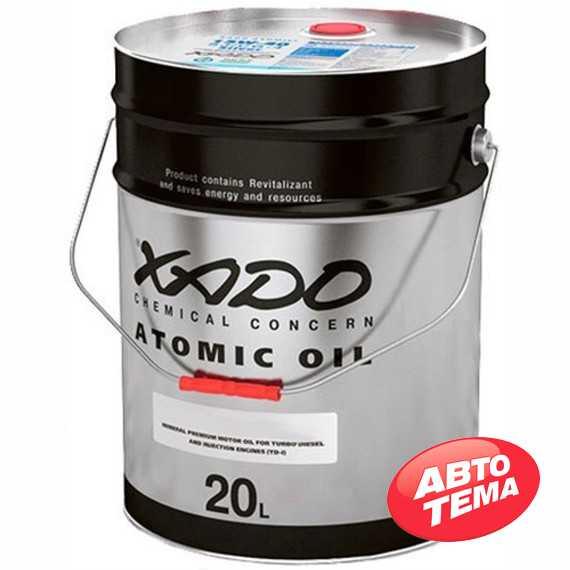 Купить Моторное масло XADO Atomic Oil 10W-60 4T MA (20л)