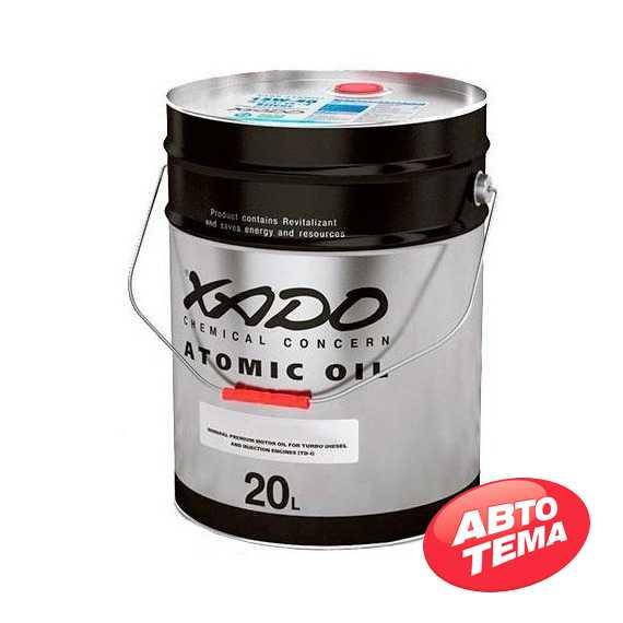 Купить Моторное масло XADO Atomic Oil 15W-40 CI-4 Diesel (20л)