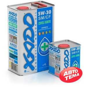 Купить Моторное масло XADO Atomic Oil 5W-30 SM/CF (1л)