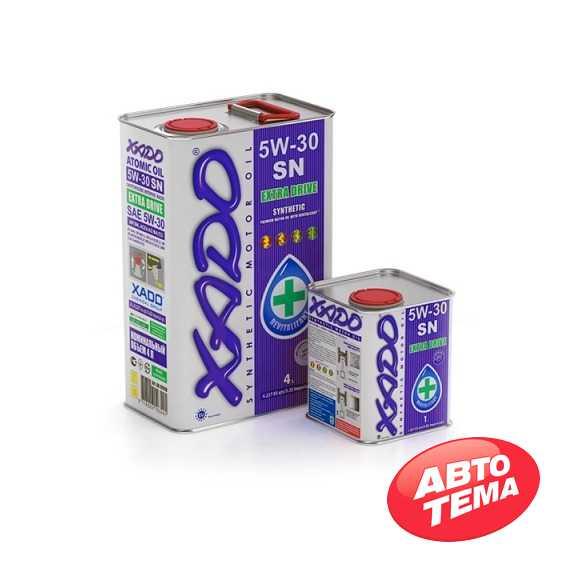 Купить Моторное масло XADO Atomic Oil 5W-30 SN (4л)
