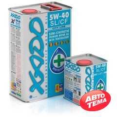 Купить Моторное масло XADO Atomic Oil 5W-40 SL/CF City Line (4л)