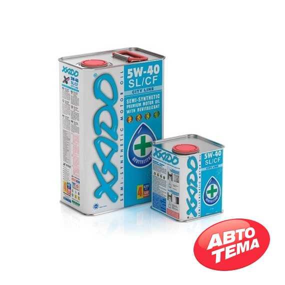 Купить Моторное масло XADO Atomic Oil 5W-40 SL/CF City Line (5л)