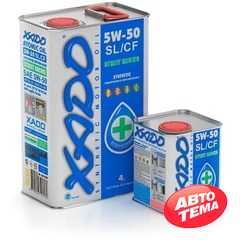 Купить Моторное масло XADO Atomic Oil 5W-50 SL/CF (1л)