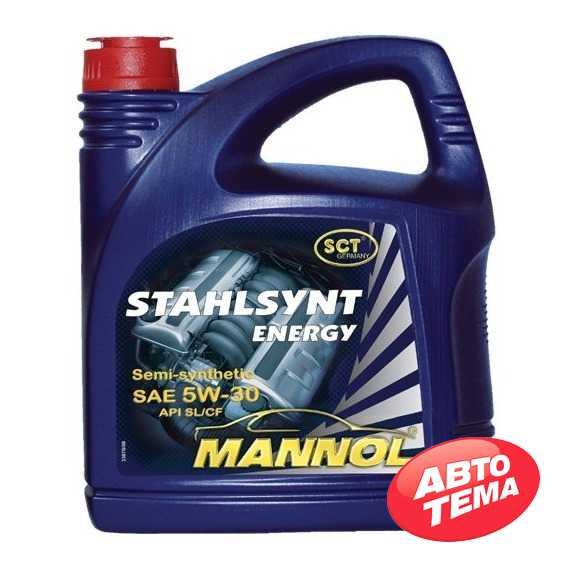 Моторное масло MANNOL Stahlsynt Energy - Интернет магазин резины и автотоваров Autotema.ua
