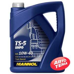 Купить Моторное масло MANNOL TS-5 UHPD 10W-40 (5л)