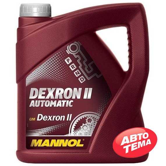 Трансмиссионное масло MANNOL ATF Dexron II D - Интернет магазин резины и автотоваров Autotema.ua