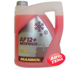 Купить Охлаждающая жидкость MANNOL Antifreeze AF12 (-40) (красная) (5л)