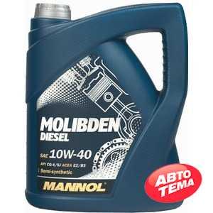 Купить Моторное масло MANNOL Molibden Diesel 10W-40 (5л)